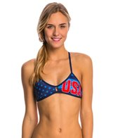 Turbo Team USA Women's Olympic Active Bikini Top