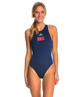 Turbo Team USA Women's Olympic Comfort Water Polo Suit