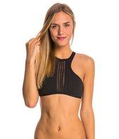 Rip Curl Swimwear Bomb Cutting Edge Hi Neck Bikini Top