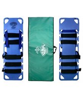 iron-duck-pedi-air-align-complete-xl-pediatric-spinal-immobilization-backboard-with-patented-dual-plane-head-drop-system-includes-straps-head-blocks-carry-case