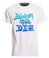 USMS Men's Swim or Die Crew Neck T-Shirt
