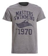 USMS Men's Swimming 1970 Crew Neck T-Shirt