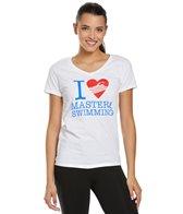 usms-womens-love-swimming-v-neck-t-shirt