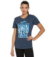 USMS Women's Swim Fast Crew Neck T-Shirt