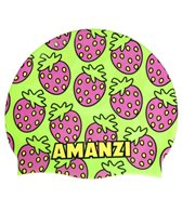 amanzi-very-berry-silicone-swim-cap