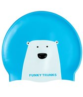 Funky Trunks Bear Grills Silicone Swim Cap