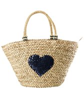 Pia Rossini Arizona Summer Basket Straw Tote Bag