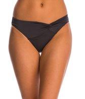JETS by Jessika Allen Jetset Asymetrical Twist Front Bikini Bottom