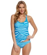 Speedo Women's Mesh Tankini Top