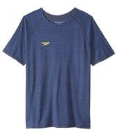 Speedo Men's Pocket Size Logo Graphic S/S Fitness Shirt