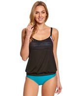 Next Women's Perfect Alignment Double Up Tankini Top (D-Cup)