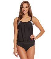 Next Women's Yoga Groove Double Up Tankini Top (D-Cup)