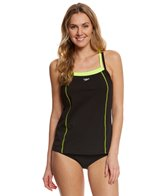 Speedo Women's Endurance+ Double Strap Tankini Top