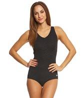 Speedo Women's Pebble Texture One Piece Swimsuit