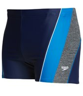Speedo Men's PowerFLEX Eco Ignite Splice Square Leg Swimsuit