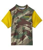 Dakine Boy's Camo Heavy Duty Loose Fit S/S Swim Shirt