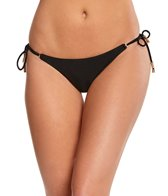 Vix Swimwear Black Long Tie Full Bikini Bottom