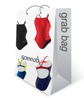 Speedo Women's Solid One Piece Swimsuit Grab Bag