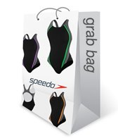 Speedo Girls' Solid Endurance One Piece Swimsuit Grab Bag