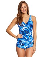 Maxine Floral Crush Crescent Sheath One Piece Swimsuit