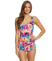 Maxine Sunburst Crescent Sheath One Piece Swimsuit