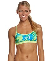 Nike Women's Tropic Crossback Sports Bra Swimsuit Top