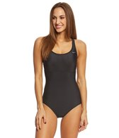 Nike Women's Solid Epic Trainer Tank One Piece Swimsuit