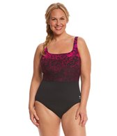TYR Women's Juniper Aqua Controlfit Plus Size One Piece Swimsuit