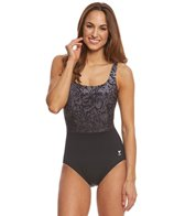 TYR Women's Juniper Aqua Controlfit One Piece Swimsuit