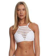 Kenneth Cole Tough Luxe High Neck Bikini Top