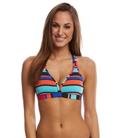 jag-caribbean-sunset-stripe-tie-back-bikini-top