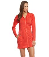 Beach House Sport Women's Indra Mesh Hooded Cover up