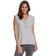 Seafolly Women's Ocean Rose Cross Back Hoodie Top