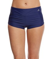 adidas-womens-solid-start-shirred-swim-short