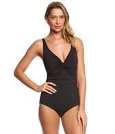 Coco Reef Contours Keepsake Sapphire Twist One Piece Swimsuit (B/C Cup)