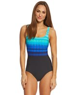 Reebok Women's Trailblazer Stripe One Piece Swimsuit