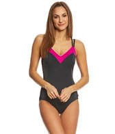 Reebok Women's Feelin' Flexible One Piece Swimsuit