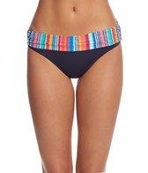Anne Cole Triangle Stripe Bikini Bottom