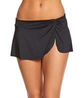 Anne Cole Live In Color Sarong Swim Skirt