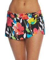 Anne Cole Growing Floral Skirted Bikini Bottom
