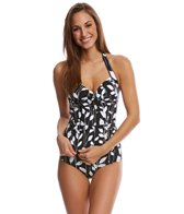 Anne Cole Vines Halter Tankini Top