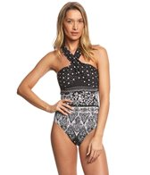 Gottex Star Fame High Neck One Piece Swimsuit
