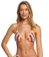 Seafolly Caribbean Kool Slide Tri Bikini Top