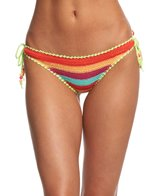 Seafolly Caribbean Kool Tie Side Brazilian Bikini Bottom