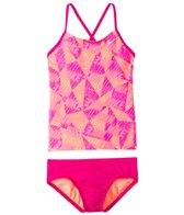 Nike Swimwear Girls' Graphic Crossback Tankini Set (7-14)