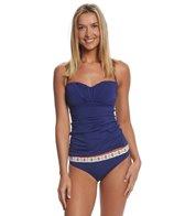 Skye Swimwear Solid Kalila Bandini Top