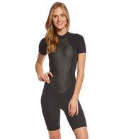 O'Neill Women's 2/1MM Bahia Short Sleeve Springsuit Wetsuit