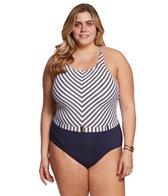 bleu-rod-beattie-plus-size-cruise-control-high-neck-x-back-one-piece-swimsuit