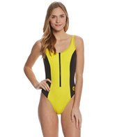 Body Glove Swimwear 80's Throwback Time After Time One Piece Swimsuit