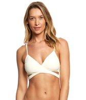 Vince Camuto Fiji Solid Wrap Bikini Top